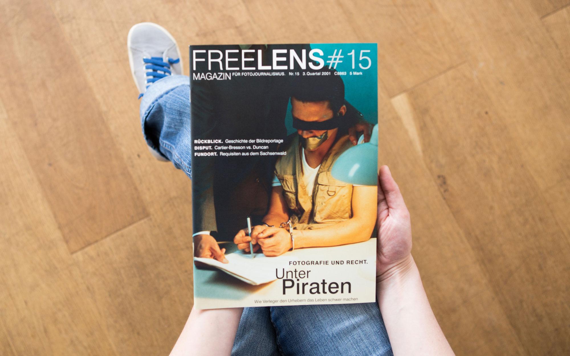 Unser Magazin #15 begibt sich in den Paragraphendschungel – mit einem Titelbild von Frank Siemers. Foto: Lucas Wahl