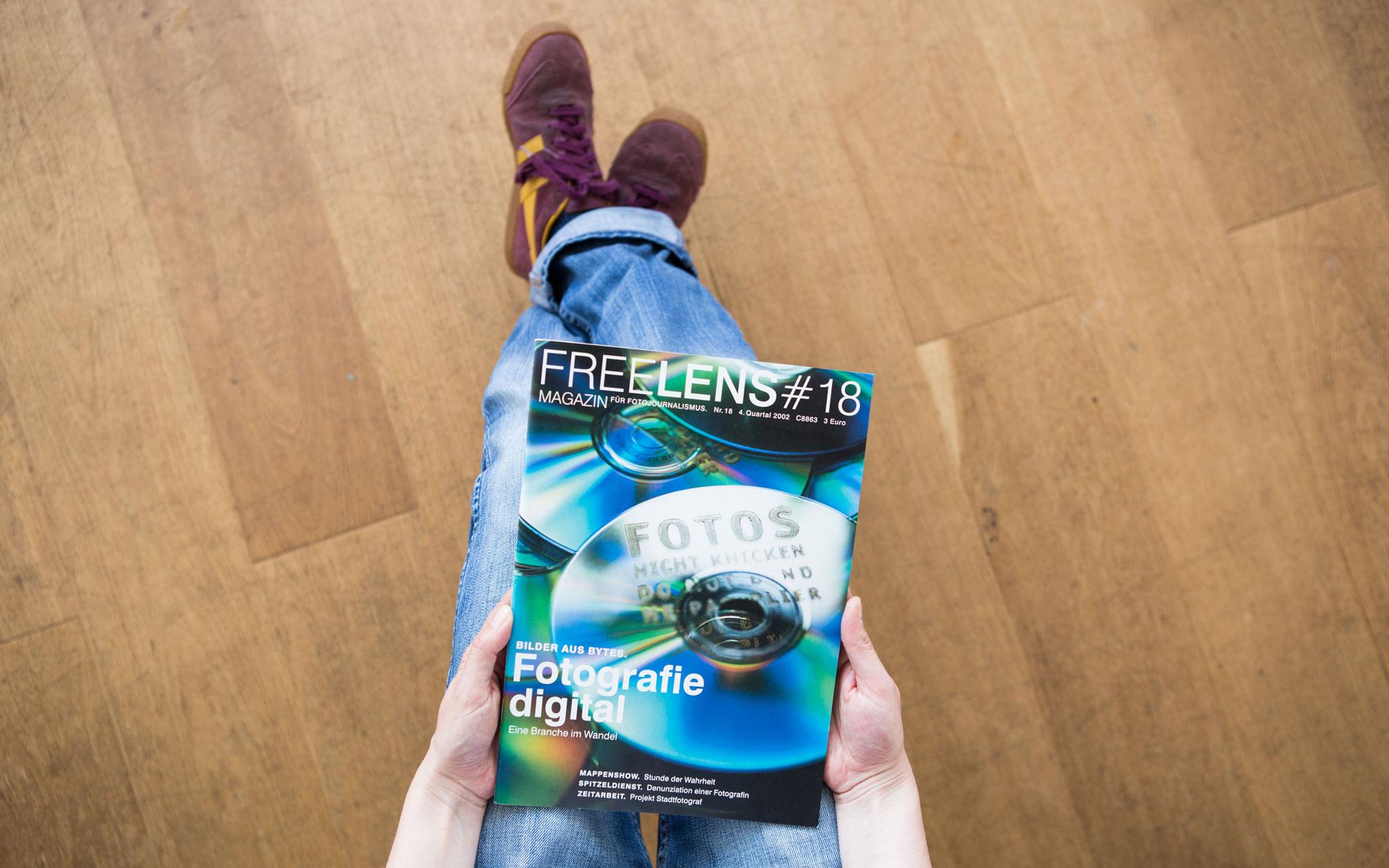 FREELENS Magazin #18. Foto: Lucas Wahl