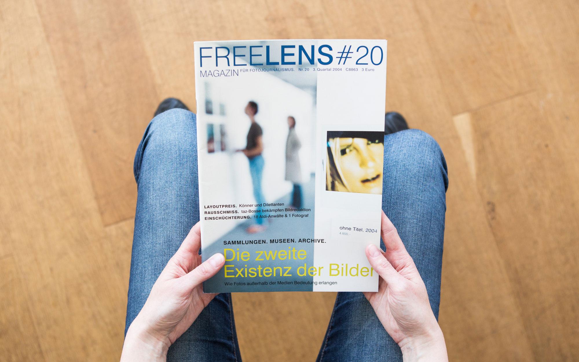 Die zweite Existenz der Bilder ist Titelthema in dieser Ausgabe – unseren Titel fotografierten Melanie Dreysse und Frank Siemers. Foto: Lucas Wahl