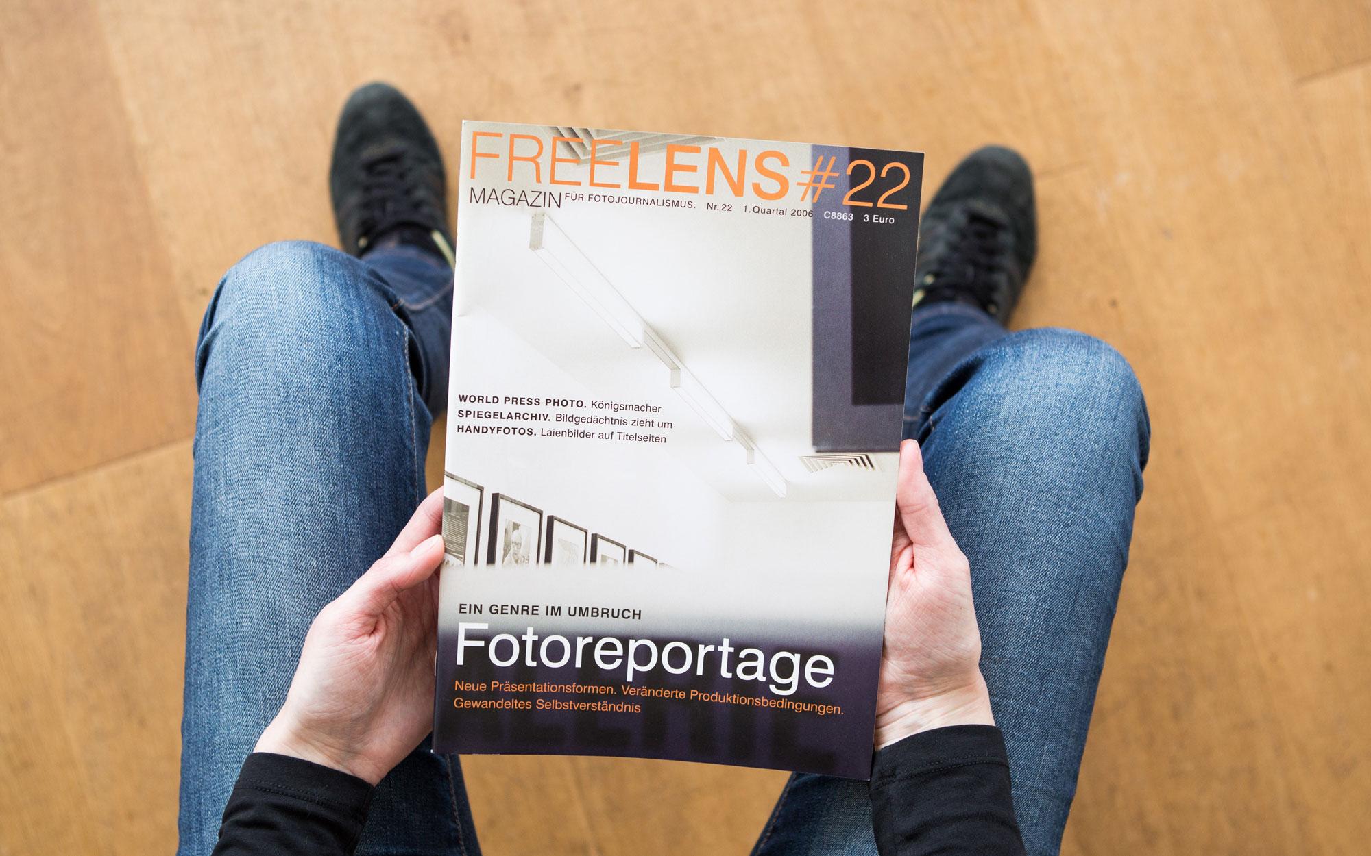 Fotoreportage – der Umbruch eines Genres als Titelthema dieses Heftes. Das Titelfoto stammt von Axel Martens. Foto: Lucas Wahl