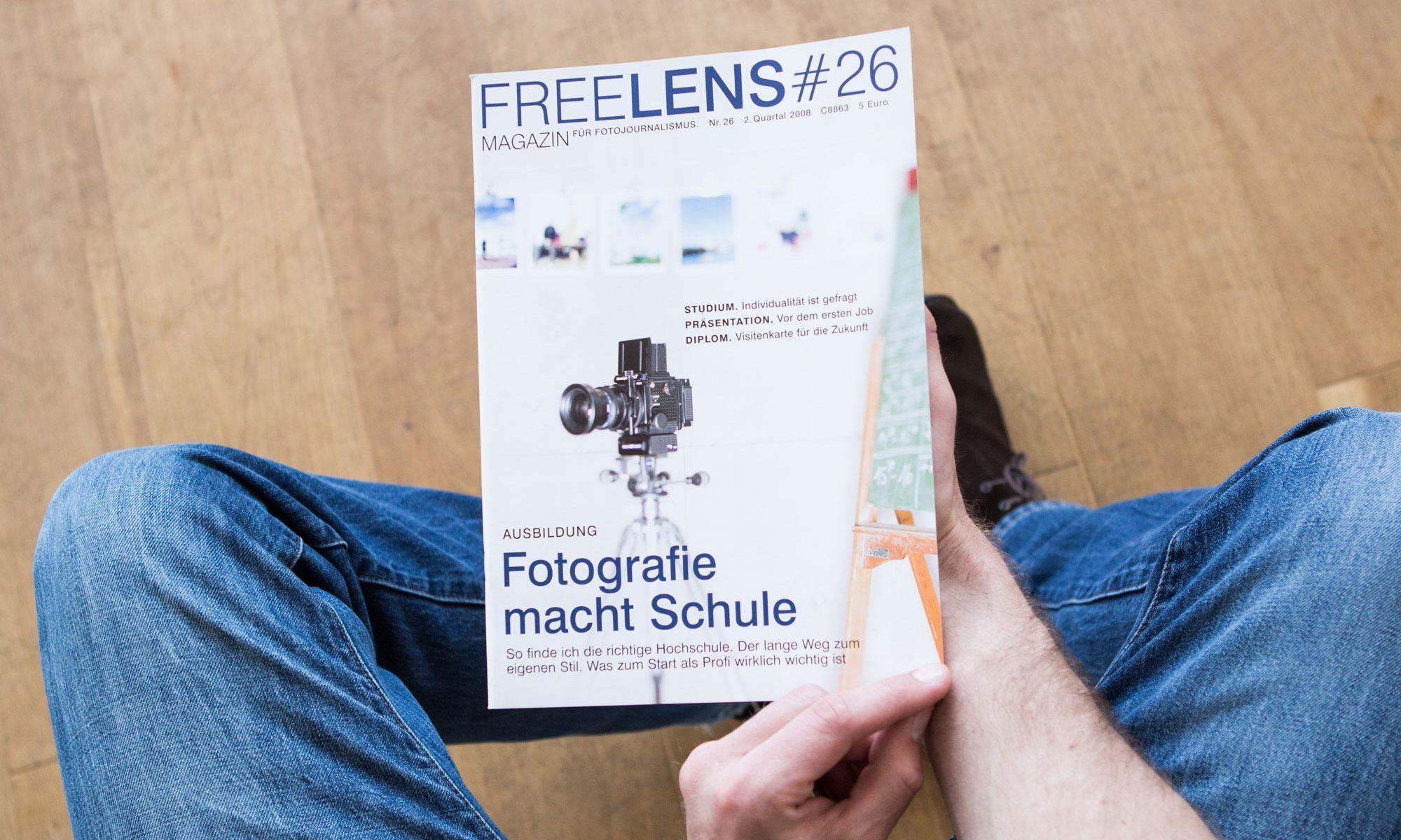 Fotografie macht Schule – Was zum Start als Profi wirklich wichtig ist. Titelfoto von Christian O. Bruch. Foto: Lucas Wahl