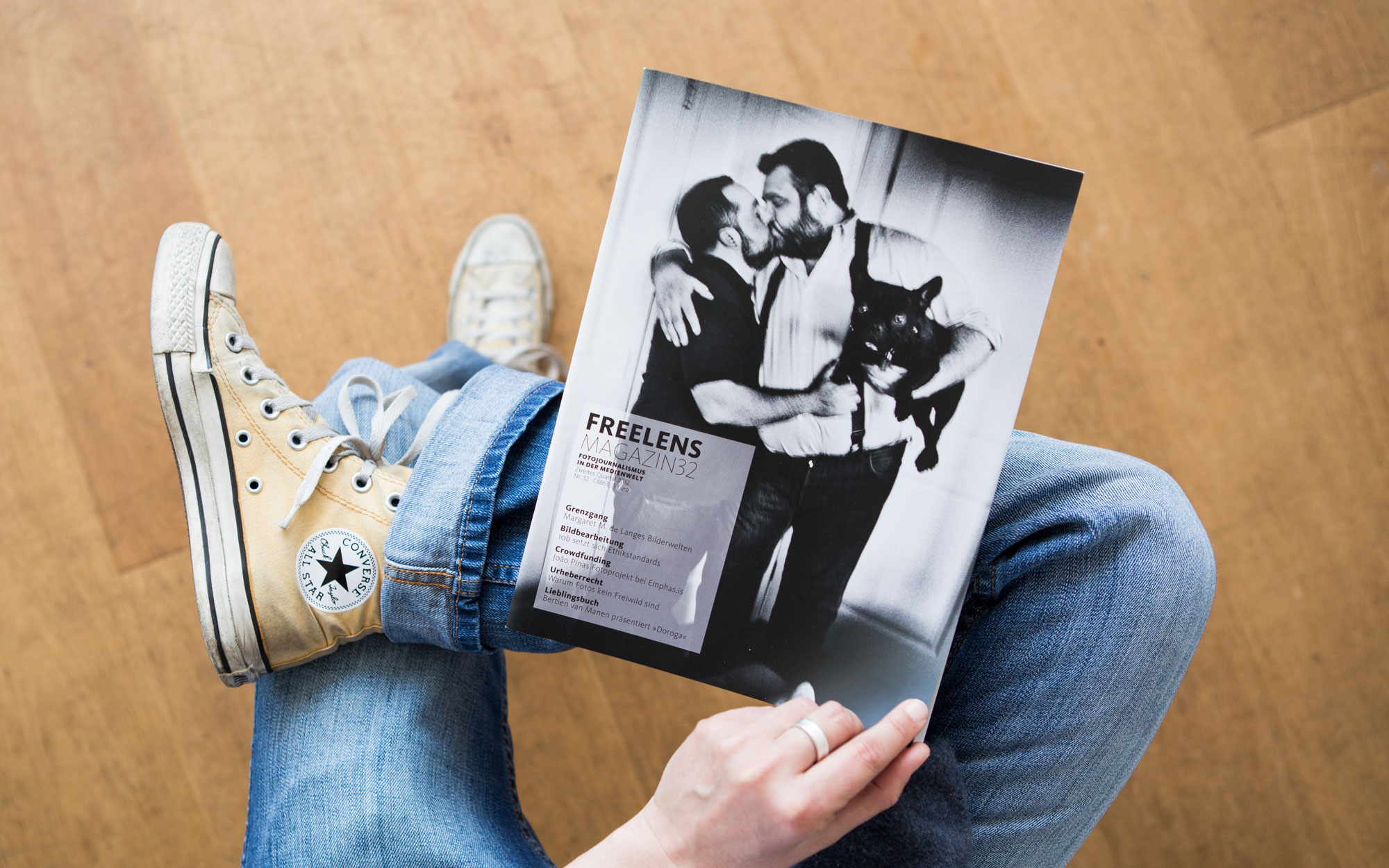 FREELENS Magazin #32. Foto: Lucas Wahl