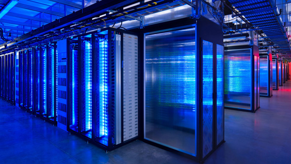 Facebook Datencenter inPrineville, Oregon, USA.