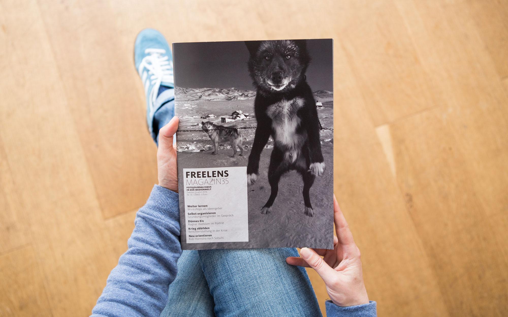 Bei einem Aufenthalt auf den Faröer Inseln entstand das Titelbild von Ragnar Axelsson. Foto: Lucas Wahl