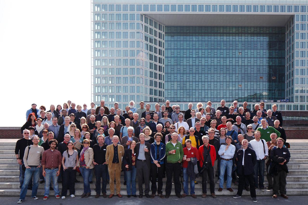 Gruppenbild FREELENS Jahrestreffen 2011 in Hamburg.