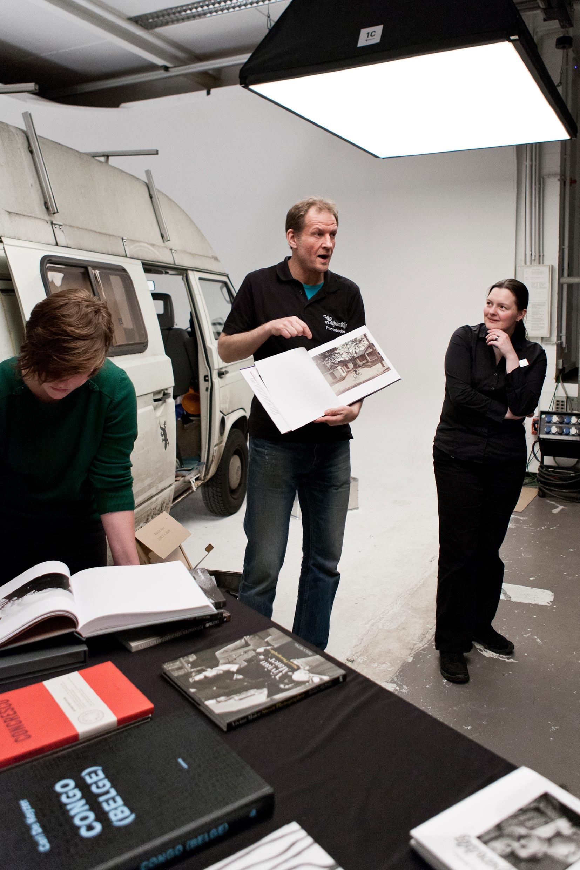 Wie findet das Buch den richtigen Kunden und umgekehrt? Richard Sporleder setzt auf Dialog statt Verkaufsgespräch. Foto: Robin Schäfer