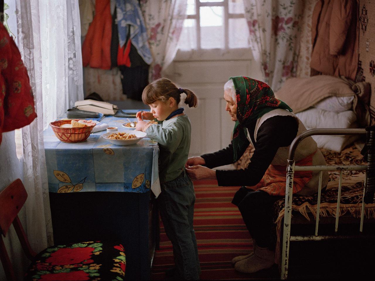 Aus der Serie »Land ohne Eltern«. Foto: Andrea Diefenbach