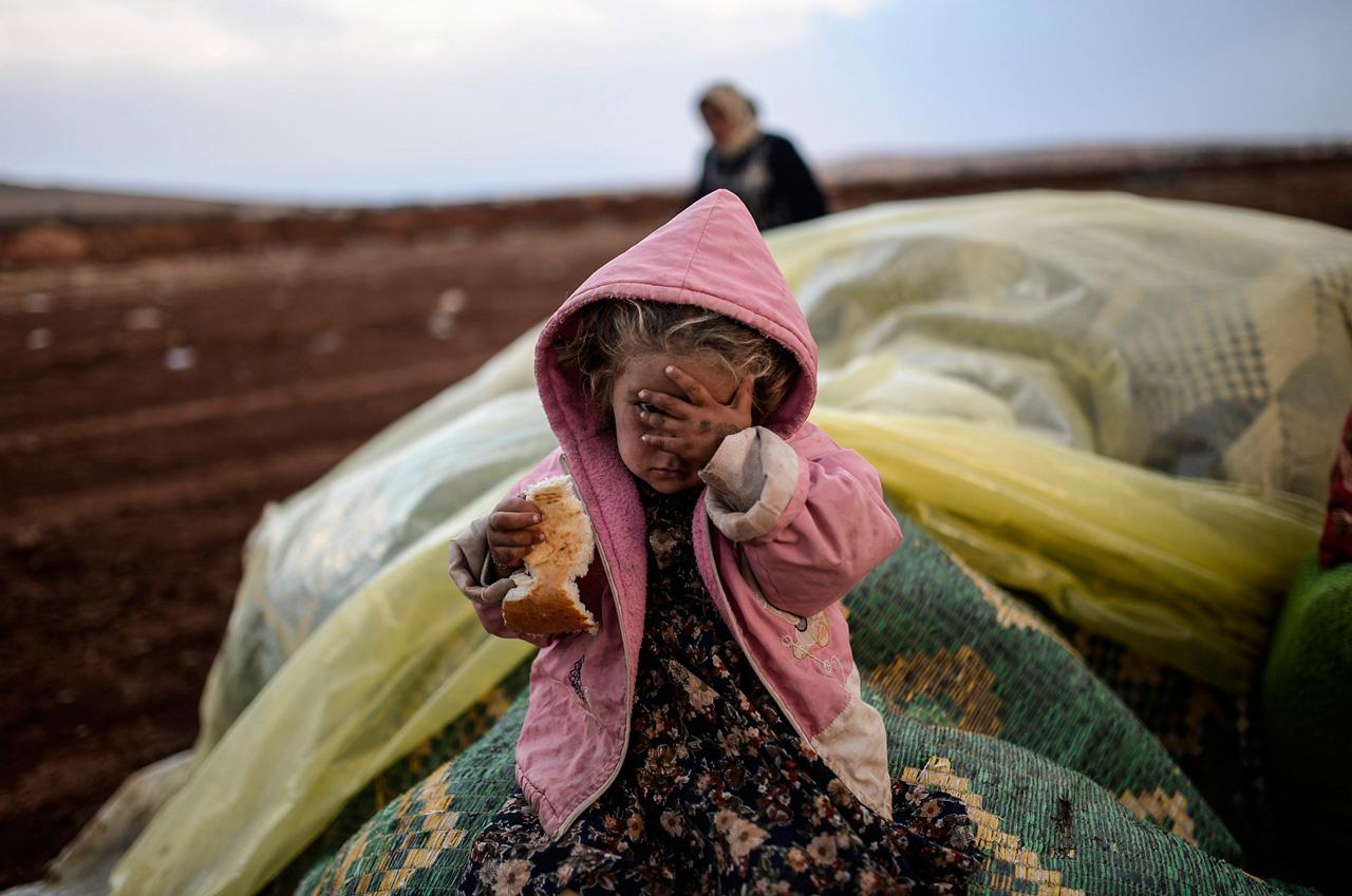 Ausgezeichnet mit dem Visa d'Or News Award: Bülent Kiliç mit seiner Arbeit zu syrischen Geflüchteten an der türkischen Grenze. Foto: Bülent Kiliç/AFP