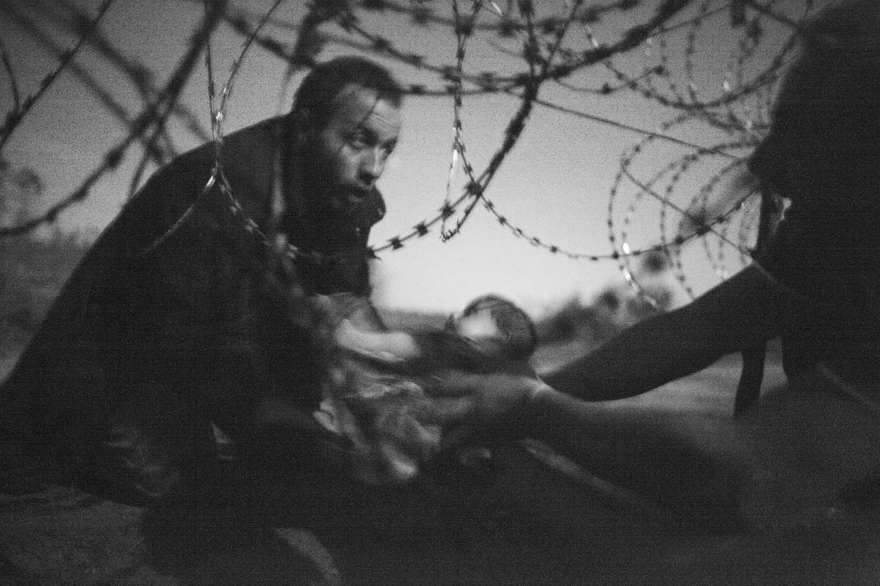 Das »World Press Photo of the Year 2015« stammt von dem freien Fotojournalisten Warren Richardson aus Australien. Foto: Warren Richardson