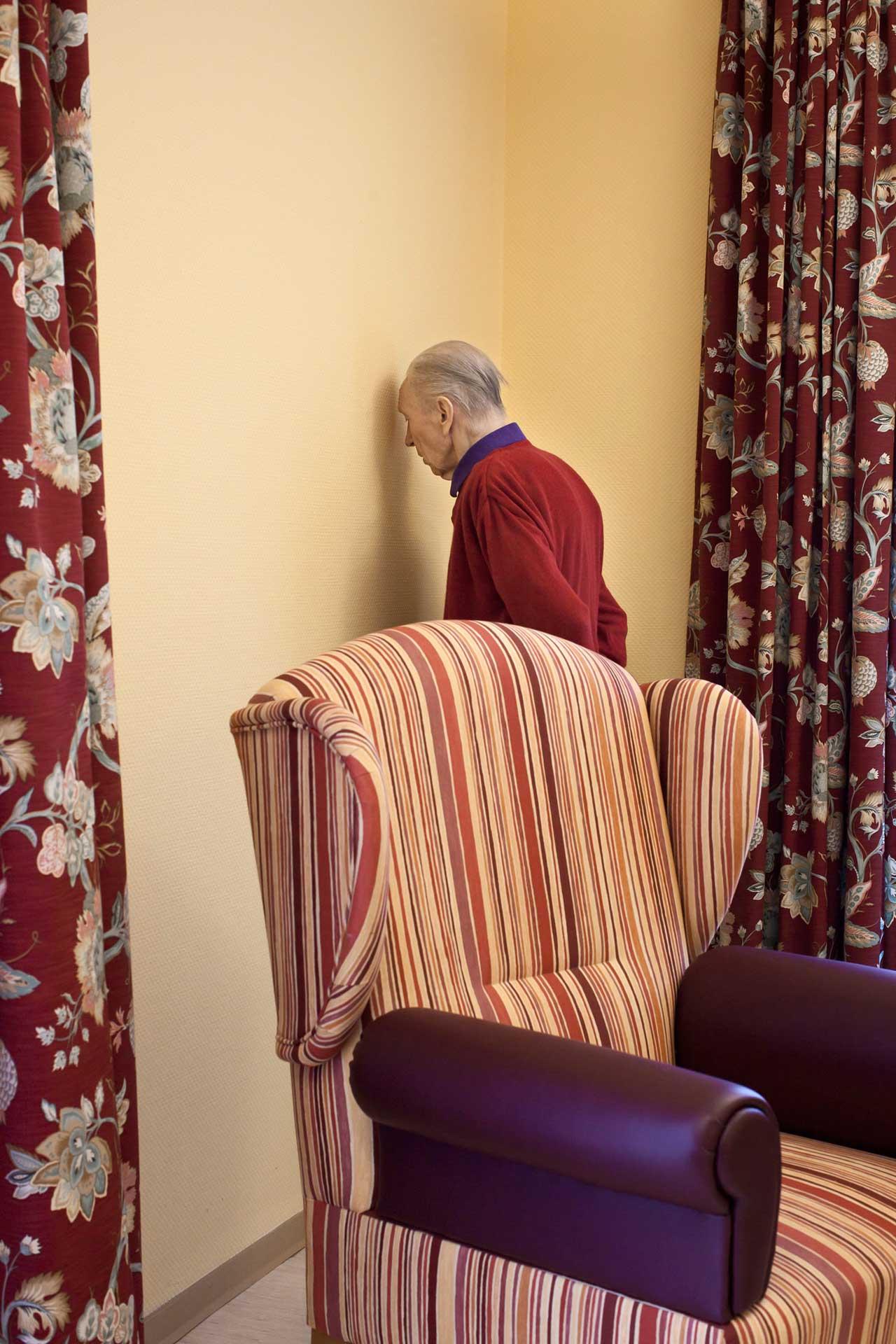 Aus der Serie »Demenz«, 2011. Foto: Cindi Jacobs
