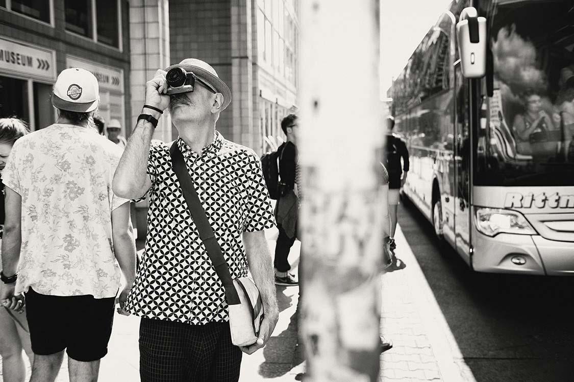 Aus der Serie »Checkpoint Charlie«. Foto: Michael Jungblut