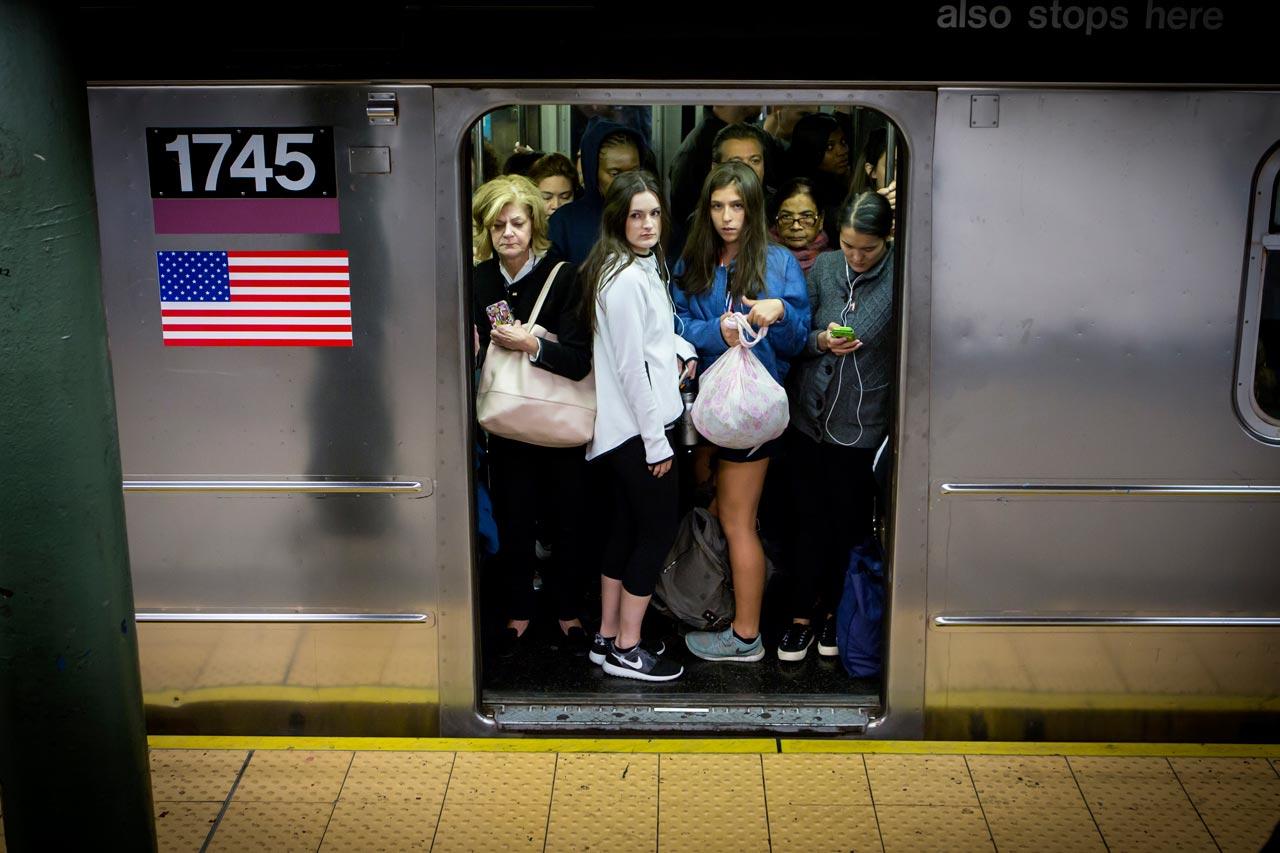Der »International Express«, wie die Linie 7 von den New Yorkern genannt wird, befördert täglich Menschen aus über 100 Nationen. Foto: Julius Schrank