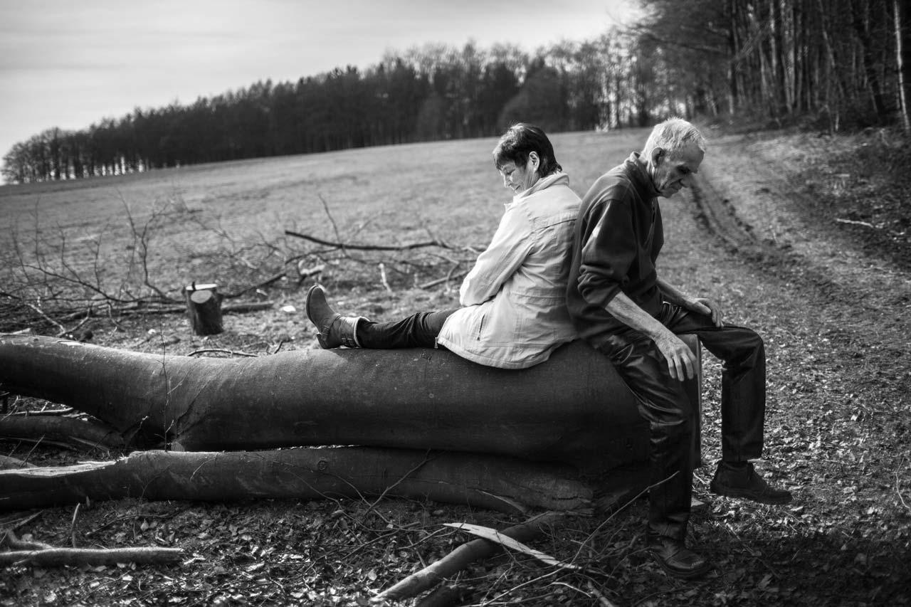 Aus der Reportage »Hauptsache, Du bleibst bei mir«. Foto: Matthias Ferdinand Döring