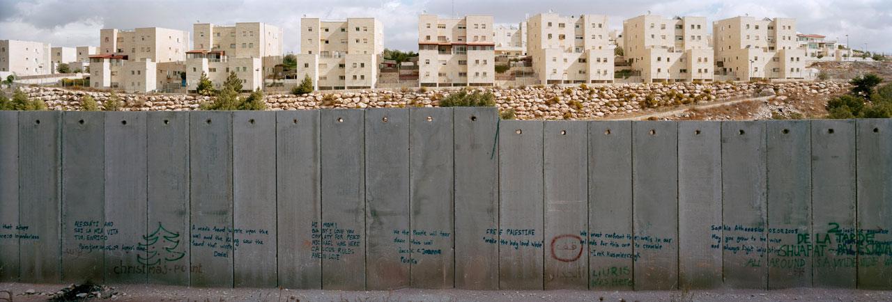 Westbank, Bili'in Village, besetzte palästinensische Gebiete, 2010. Foto: Kai Wiedenhöfer