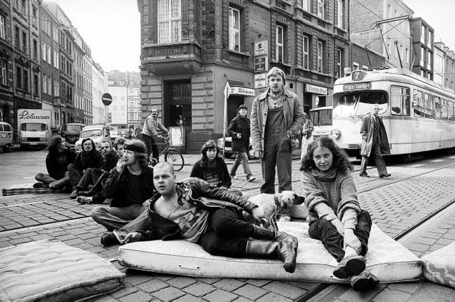 Die Ausstellung »Bewegung im Blick« beschäftigt sich mit der Kölner Fotografenszene der 70er und 80er Jahre.