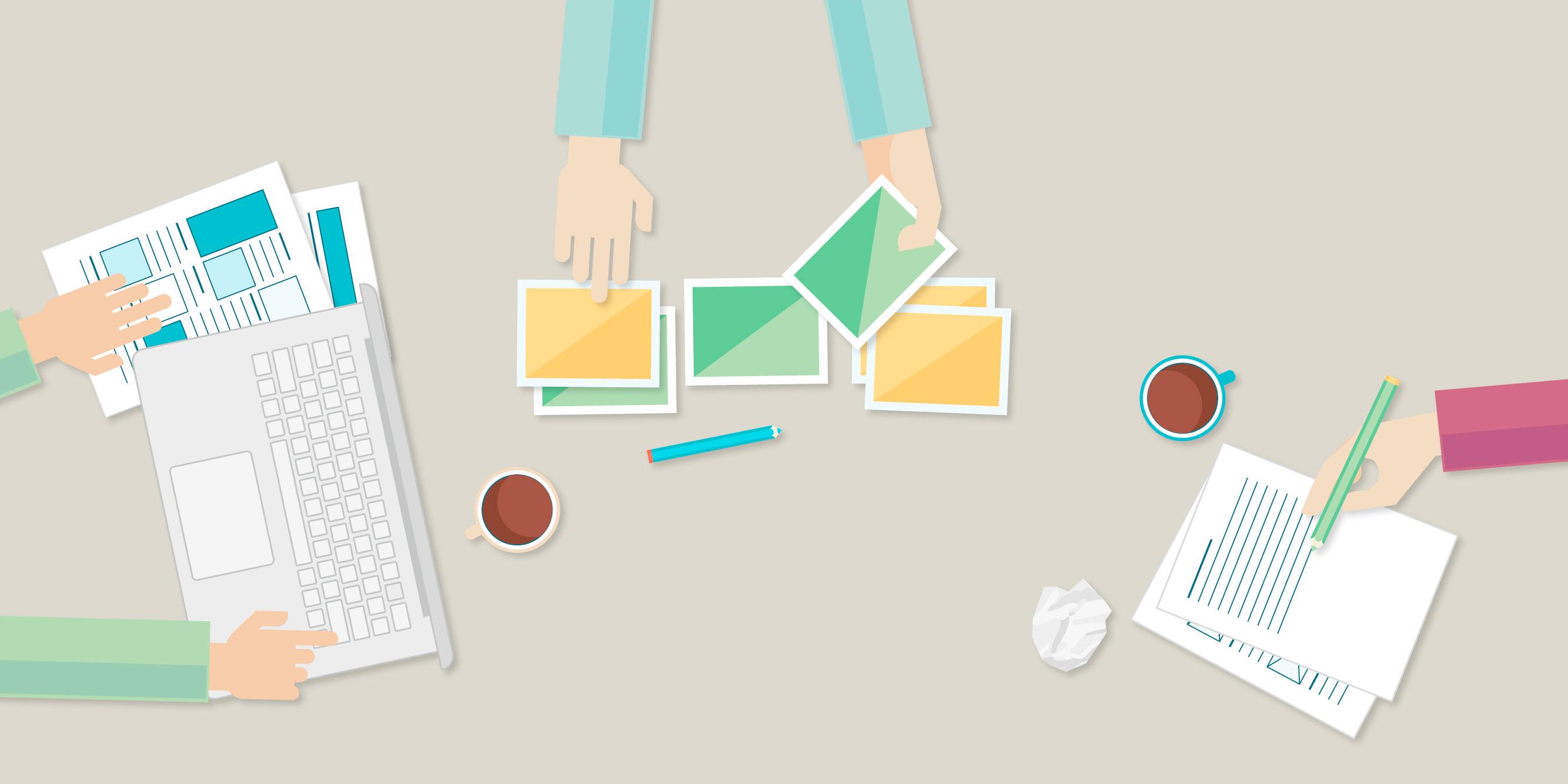 »Welche Bilder präsentiere ich meinen Kunden und welches Honorar kann ich für meine Arbeit erzielen?« ist eine der Fragen, mit der sich die Teilnehmer*innen im Workshop mit Silke Güldner beschäftigen.