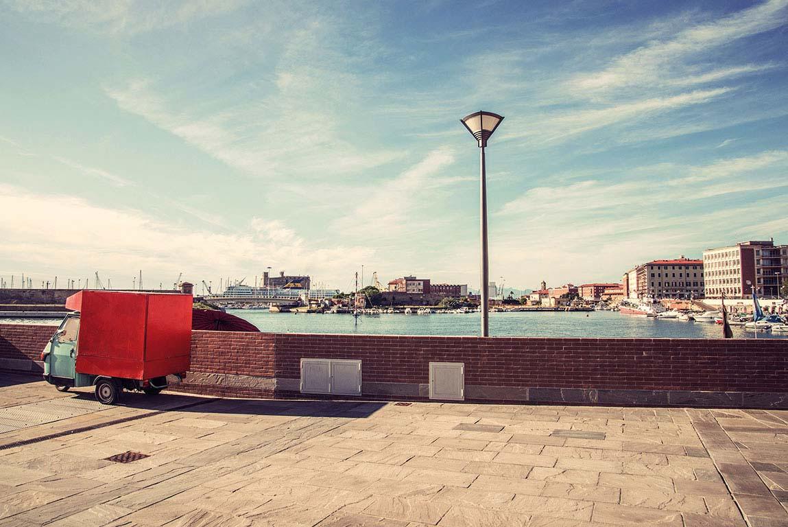 Port de Livourne. Foto: Kerstin Schomburg