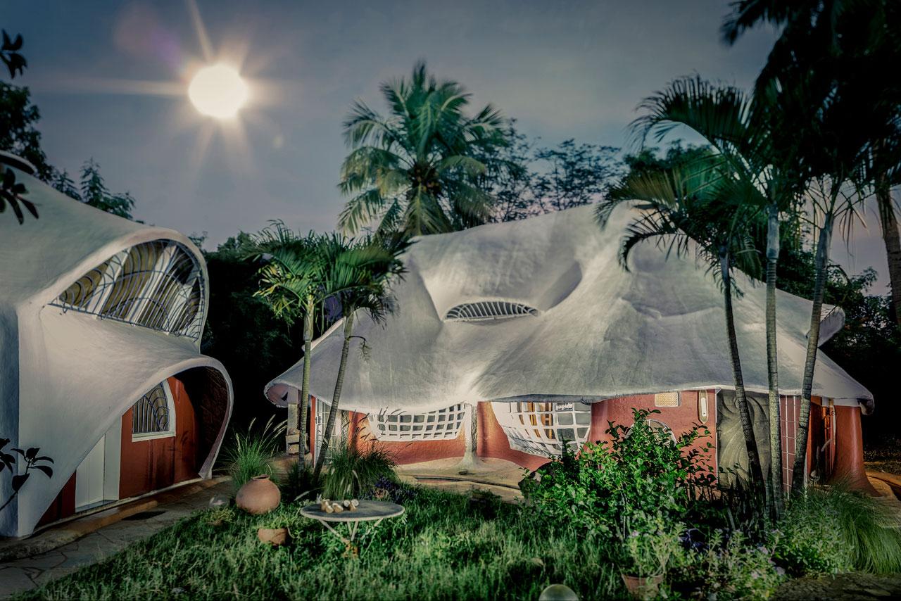 Aus der Arbeit »Auroville«.