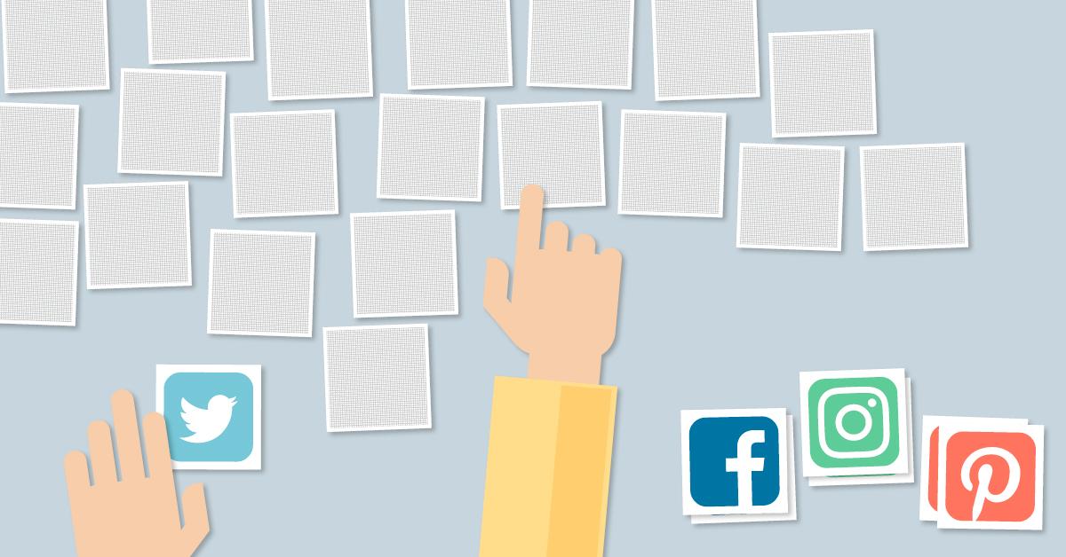 Es ist gar nicht so einfach, für sich zu entscheiden, welche Social-Media-Plattform am besten zu den eigenen Anforderungen passt. Illustration: FREELENS unter Verwendung von Vektordateien von Pure Solution/Fotolia