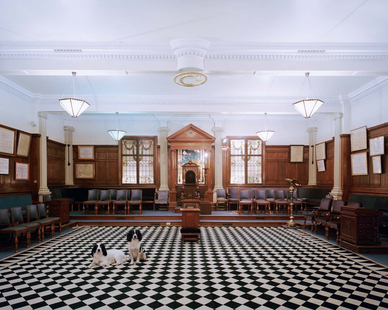Tempel der »Provincial Grand Lodge of Yorkshire«, Bradford, England, 2015. Foto: Juliane Herrmann