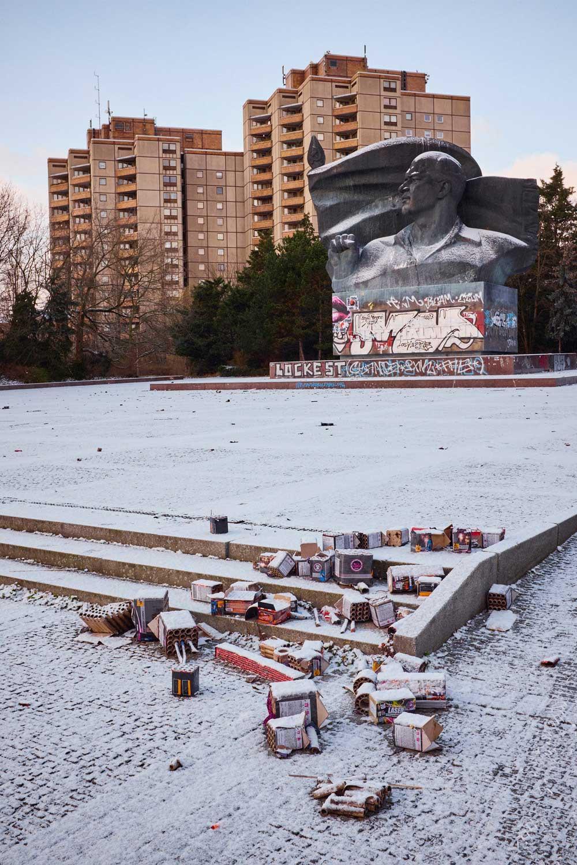 Ernst-Thälmann-Denkmal, Prenzlauer Berg, Januar 2017. Foto: Christoph Kohlmann