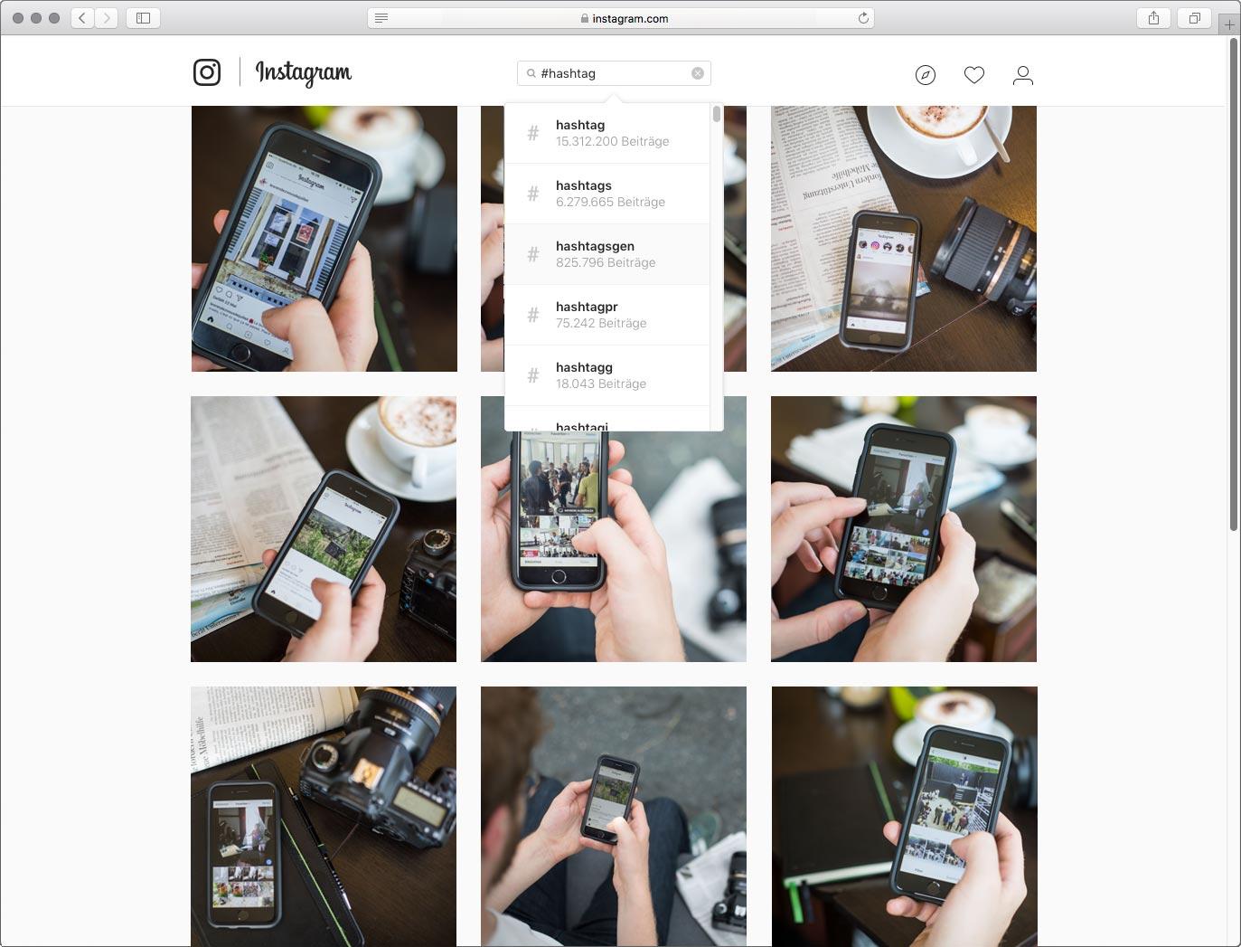 Die Bilderflut auf Instagram lässt sich durch Hashtags ordnen, doch welche Regeln sollten dabei beherzigt werden? Fotos: Evgeny Makarov (M)