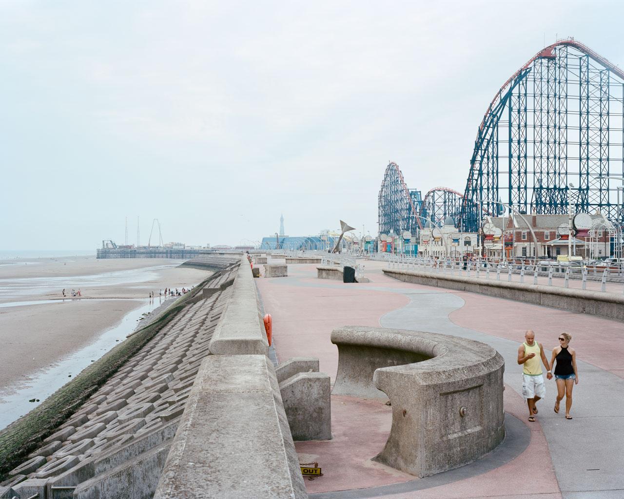 Blackpool, Großbritannien, 2014. Foto: Claudius Schulze
