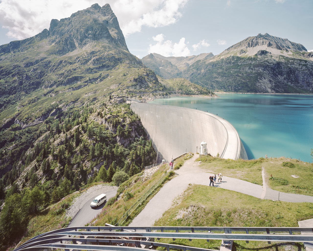 Lac d'Émosson, Switzerland. Foto: Claudius Schulze