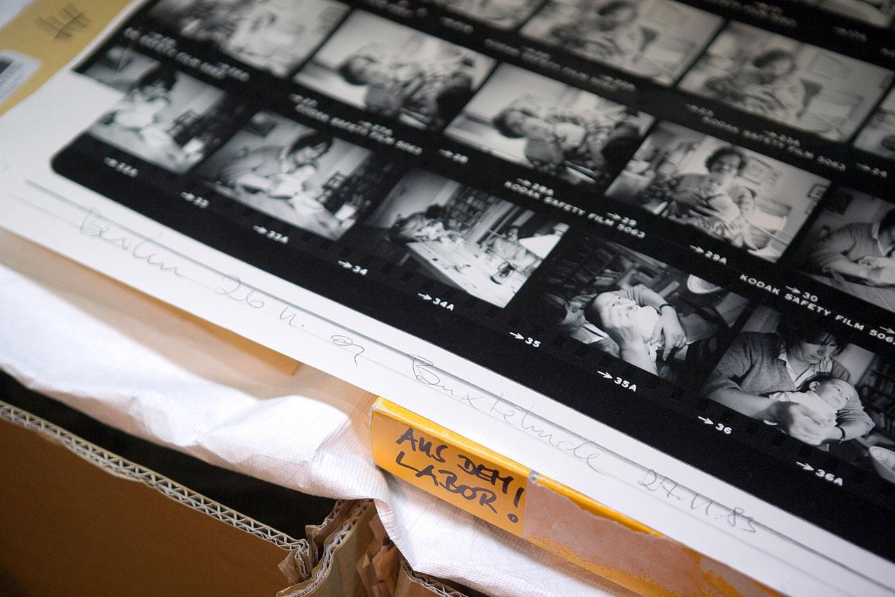 Im Hinblick auf die Sicherung und Zugänglichmachung aktueller und zukünftiger Fotografennachlässe steht die Fotografieszene in Deutschland vor großen Herausforderungen. Foto: Thies Rätzke