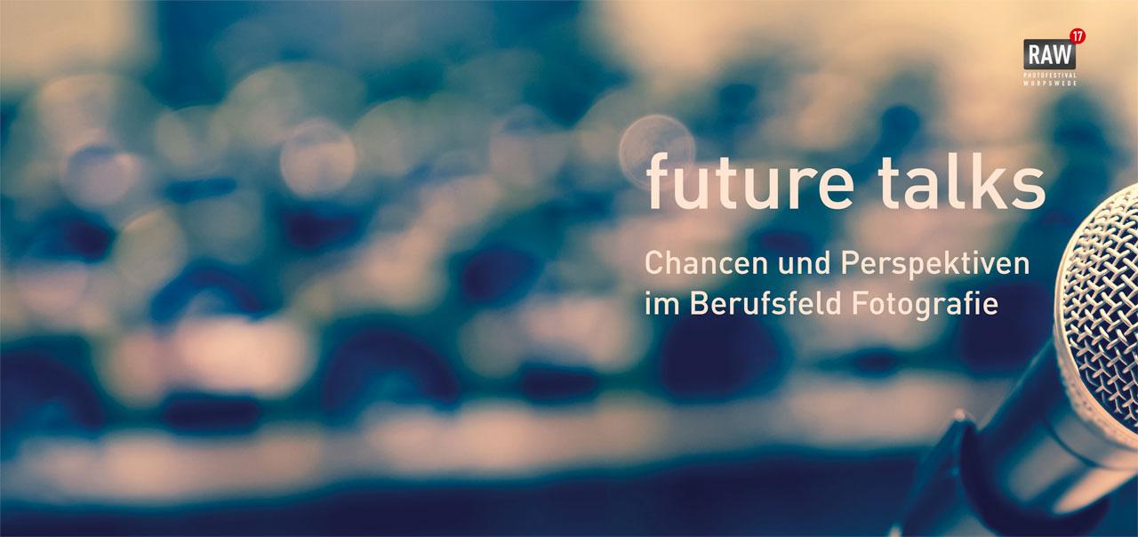 Unter der Leitung von Ditmar Schädel, Vorsitzender der DGPh, werden Lutz Fischmann, Anna Gripp, Andreas Herzau und Peter Liedtke am 7. Oktober 2017 in Worpswede die Chancen und Perspektiven im Berufsfeld Fotografie diskutieren. Foto: DGPh