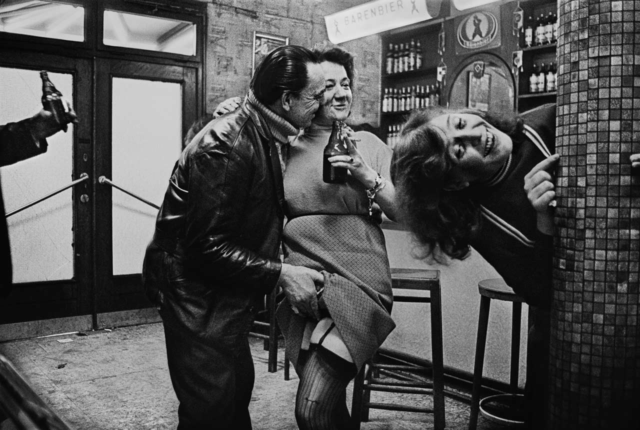 Aus der Ausstellung »Café Lehmitz«. Foto: Anders Petersen