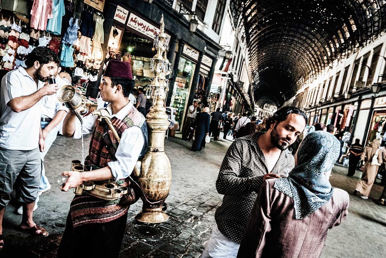 Suq al-Hamidiya in Damaskus. Foto: Lutz Jäkel/Laif