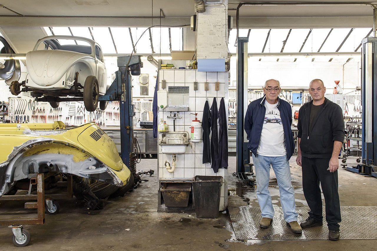 Kfz-ReparaturWerkstatt Mertsch & Zander, Müggenkampstraße 12a. Foto: Frederika Hoffmann
