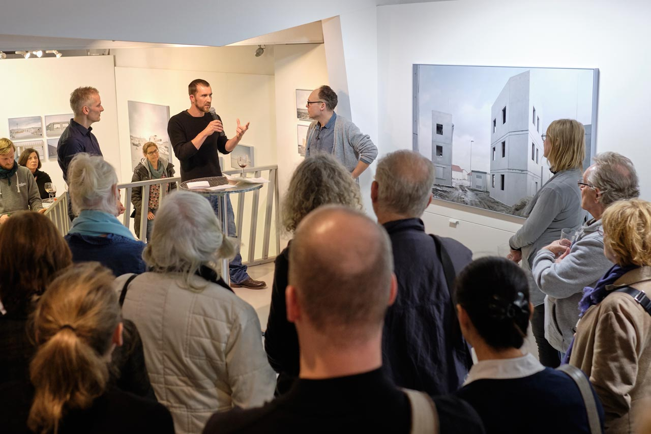 Vernissage »The Potemkin Village« mit Gregor Sailer
