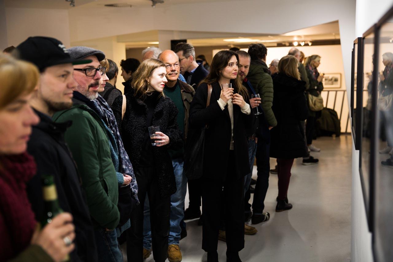 Vernissage von »Deutschland im März« in der FREELENS Galerie
