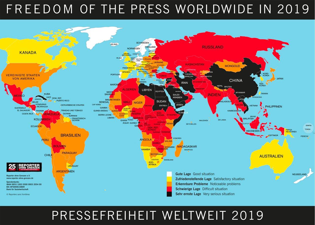 Hetze gegen Medienschaffende führt zu Angst und Gewalt