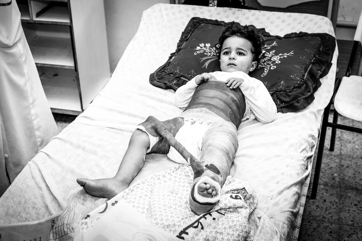 Patient Gaza. A Photographic Diary