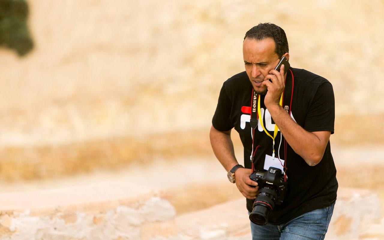 »Eine Kamera ist wie eine Waffe: alle haben Angst«