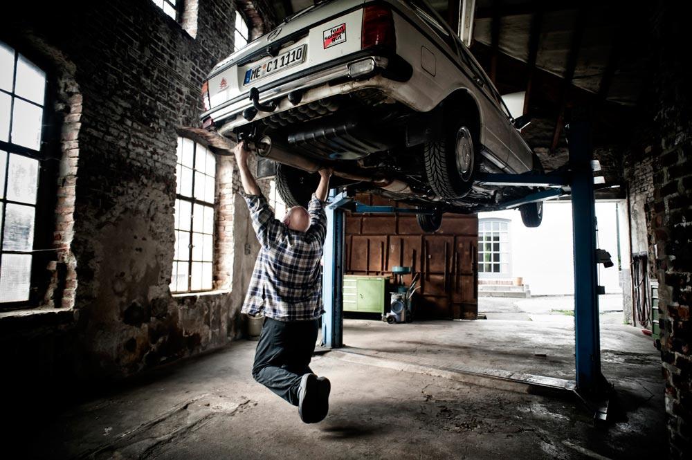 Hauben Taucher – Leben im Motorraum