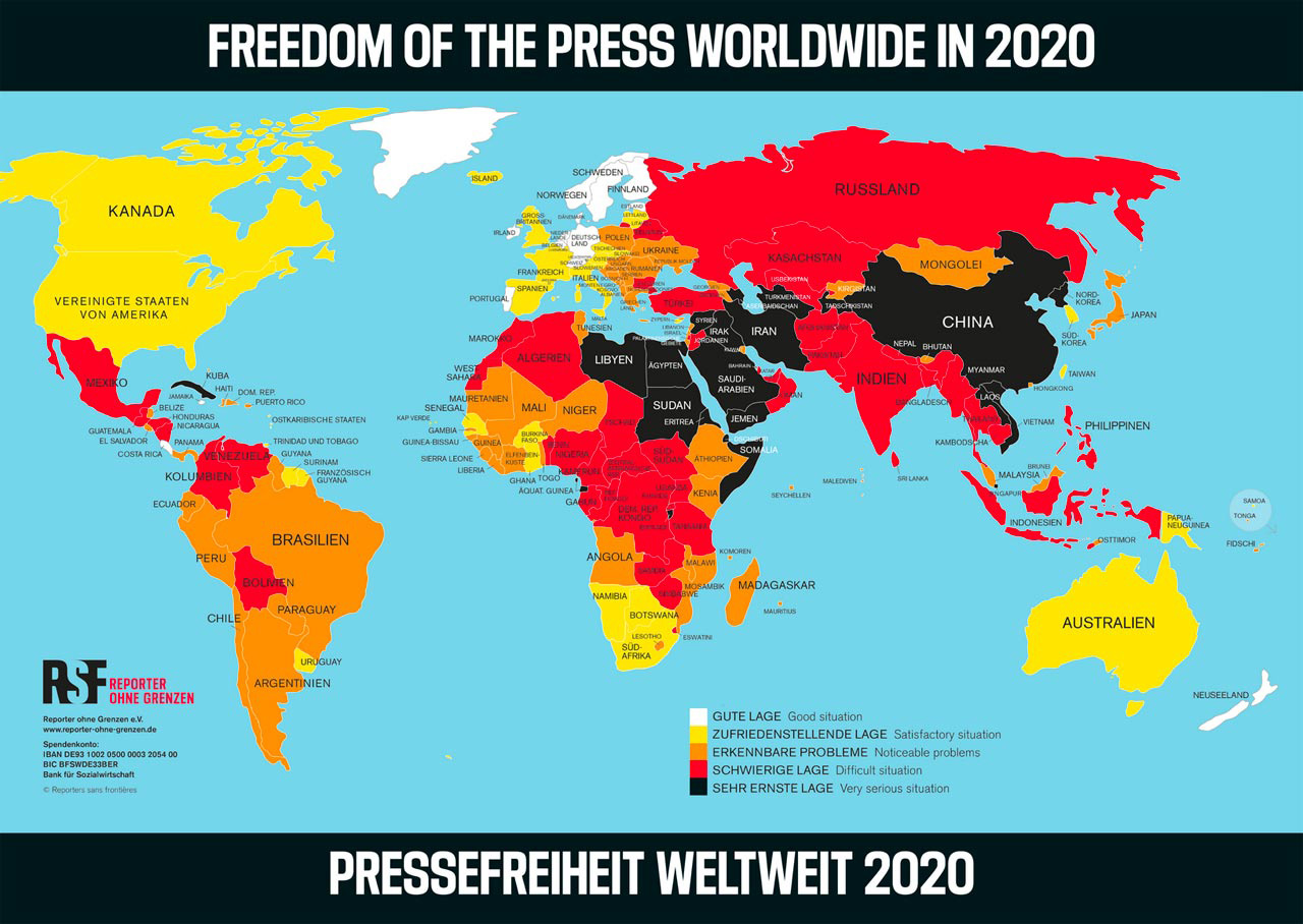 Journalistinnen und Journalisten unter Druck von vielen Seiten