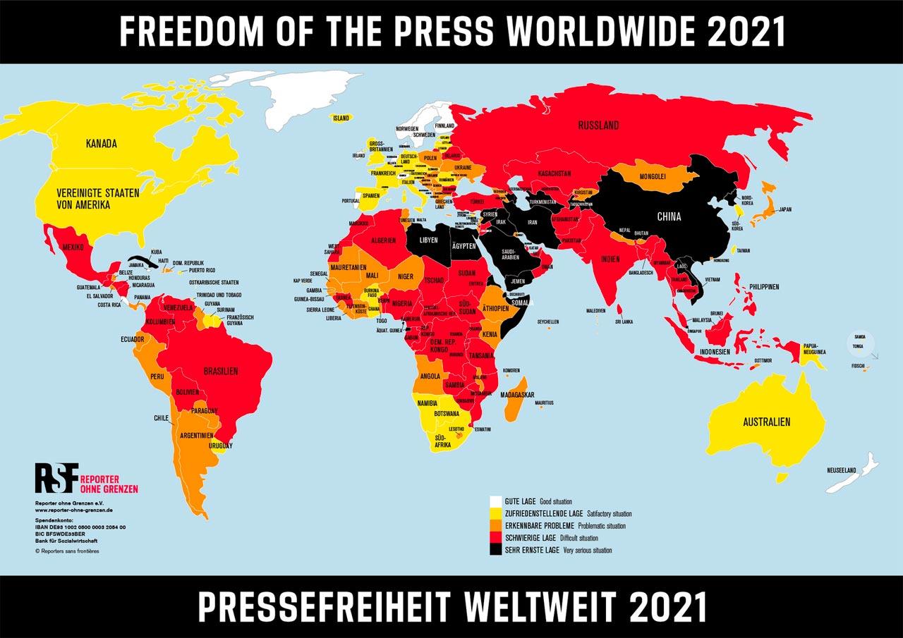 Journalist:innen kämpfen in der Pandemie gegen neue und alte Gefahren