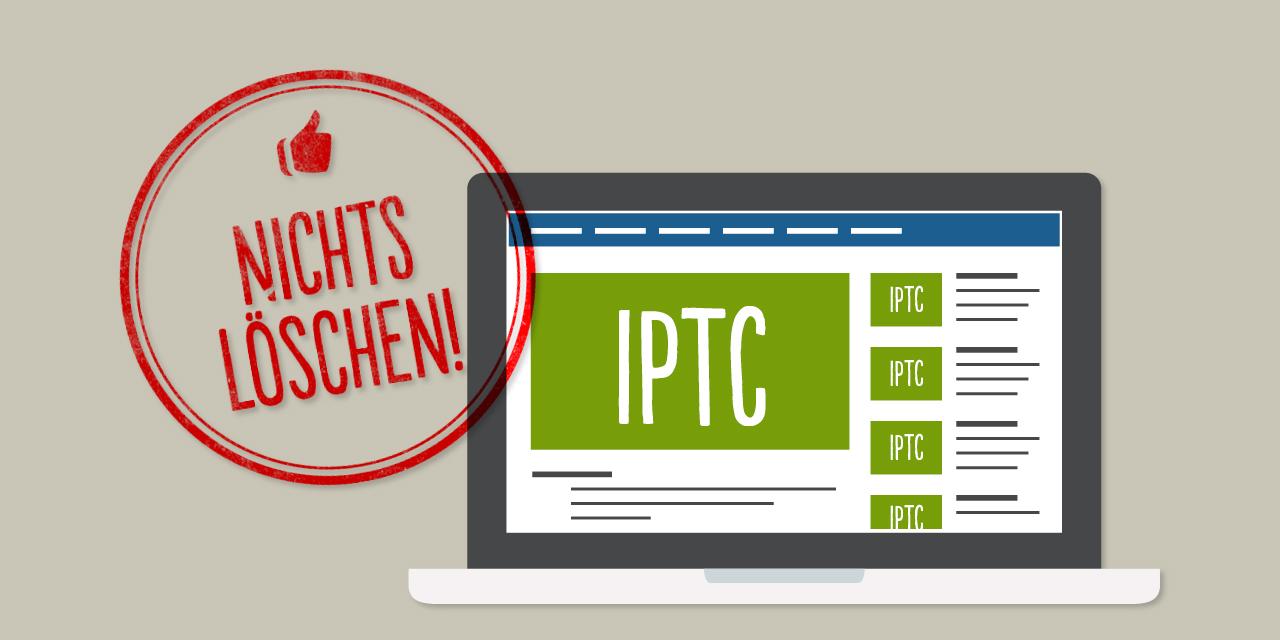 Facebook darf IPTC-Daten nicht löschen